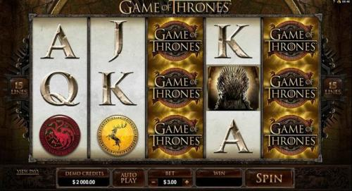 machine a sous game of thrones microgaming