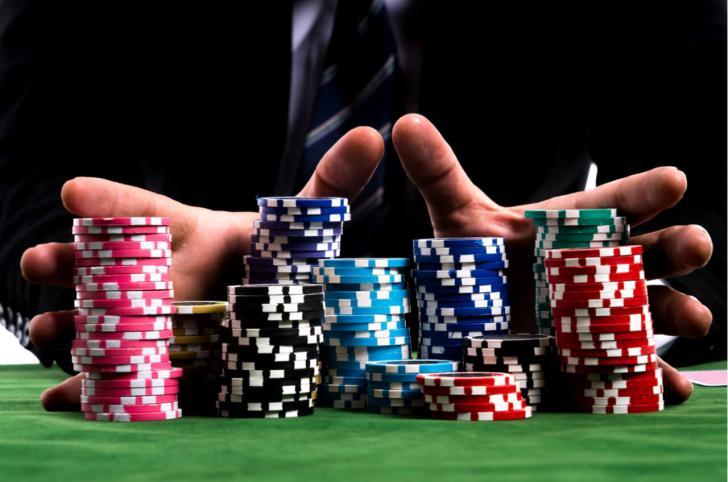 mains jetons casino